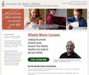 Atlanta Lessons, Any Instrument